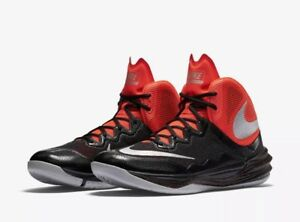 d75038ea6798 Nike Prime Hype DF II Basketball Shoes Men s Size 13 Black Crimson ...