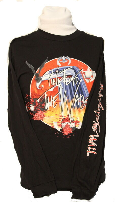 NEW  Men's Pink Floyd The Wall Vintage Album Cover Long Sleeve Shirt - XL