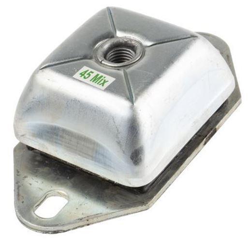 Rs pro Rettangolare M20 Metallo Anti Vibrazione Supporto 350kg Pressione Carico
