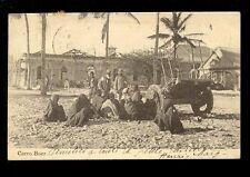 West Africa France Congo CARRO BOER building construction 1909 u/b PPC