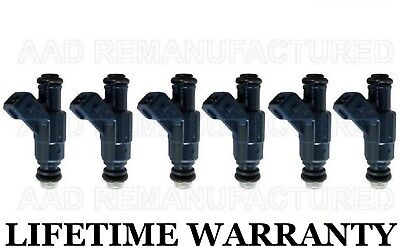 Genuine BOSCH Set Of 6 Fuel Injectors for 01-03 Ford Explorer 02-04 Mountaineer
