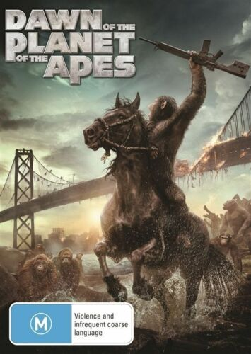 1 of 1 - Dawn of the Planet of the Apes (DVD, 2014) NEW R4