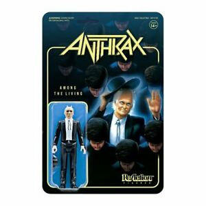 "Super7 Anthrax Preacher (Among the Living) 3.75"" ReAction Figure"