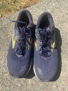 Brooks-Mens-Adrenaline-GTS-19-1102941D439-Navy-Blue-Running-Shoes-Size-10-5-D
