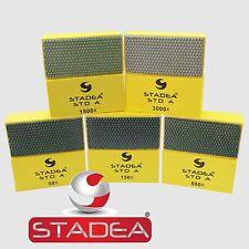 STADEA Diamond Hand Polishing Pads Set For Granite Concrete Marble Glass Polish