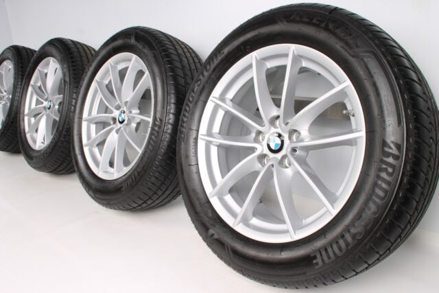 NEU 1x Original BMW X3 G01 X4 G02 18 Zoll Alufelgen 618 V-Speiche 6880047
