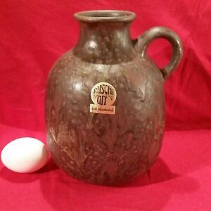 handmodellierte Designer Vase Ruscha Art 70er Jahre Form 317 2