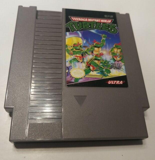 Teenage Mutant Ninja Turtles (Nintendo NES) Authentic/Cleaned/Tested TMNT Game