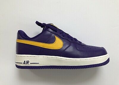 huge discount d50ae da0a9 Nike iD Los Angeles Lakers Air Force 1 AF1 Low NBA Pack AQ3998-993 Size 11  | eBay