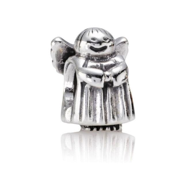 4f698af81 GENUINE Pandora Angel of Hope RETIRED Sterling Silver Charm 790337