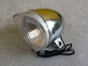 Illuminazione luce faro per bicicletta vintage rétro ebay