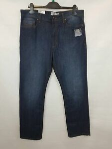 Marks-amp-Spencer-Men-039-s-jeans-Blue-Zip-fly-Size-W36-L31-new-with-tags-02