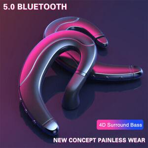 Wireless-Bluetooth-5-0-Cuffie-conduzione-ossea-Cuffie-Stereo-Auricolari-earpices