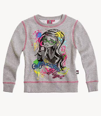 Monster High Mädchen Sweatshirt Gr.128-164 Pullover Shirt NEU!!! Lizenzware