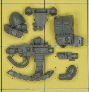 Warhammer 40K marines espaciales Devastator escuadrón Bolter pesado a