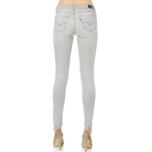 Skinny Stretch Super Leggings Levi's 535's donna z3g Ref In Worn Jean Grey xRqwFItn