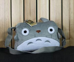 Studio Ghibli My Totoro Shoulder Messenger Plush Hand Bag tote wallet purse New
