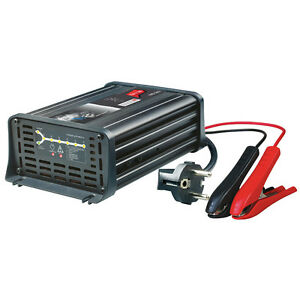 Batterieladegeraet-12V-12A-7-Stufen-IUoU-Automatik-Blei-Nass-Calcium-VRLA-AGM-GEL