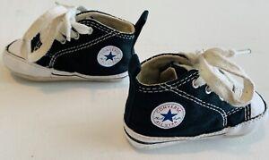 Baby Converse Chuck Taylor Black Crib