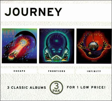 The Collection Escape Frontiers Infinity Box By Journey Rock Cd Jun 1998 3 Discs Sony Music Distribution Usa For Sale Online Ebay