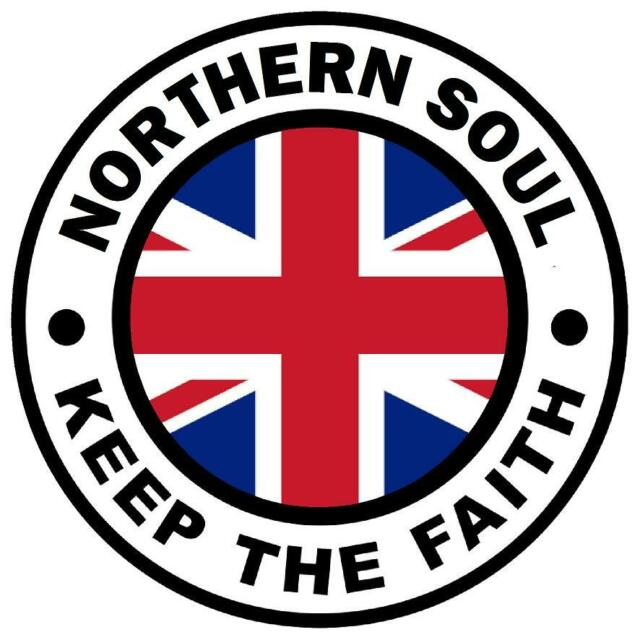 UNION JACK - NORTHERN SOUL KTF - CAR TAX DISC HOLDER - BRAND NEW / GIFTS