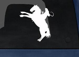 Wild-West-Rodeo-Cowboy-on-Horseback-Lasso-v-3-Car-Tablet-Vinyl-Decal