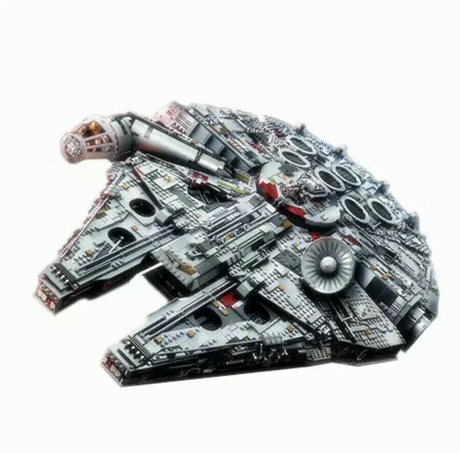Brand New Millennium Falcon Compatible with Star Wars 75192 In Sealed Box