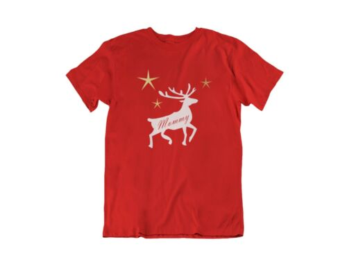 Family Christmas Matching T Shirts Pajamas Tees Reindeer Gift Shirt Personalized
