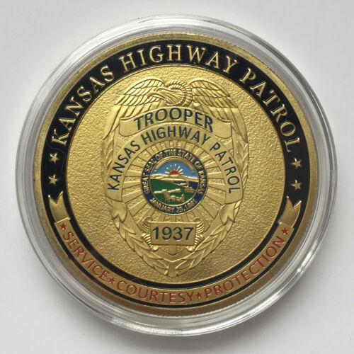 Kansas Highway Patrol Challenge Coin