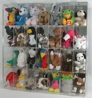 Beanie Display Baby Case Holds 28 New in Box Made in USA