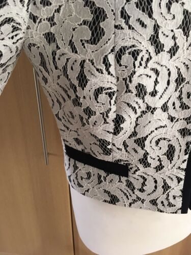 Taglia e £ Lace bianco Bnwt 14 145 blu Eight Matilda Phase scuro Jacket Fab qxv8pg