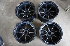 "JDM 15"" X 10"" AE86 Datsun pcd114.3 wheels 240z fairlady wata nabe Style Z31 s30"