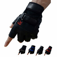 Sports Gym Gloves Half Finger Training Fitness Wrist Wrap Weightlifting Gloves