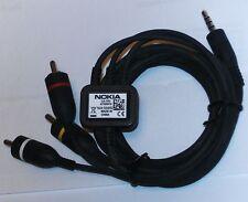 Nokia TV VIDEO CABLE CA 75U 6720 E6 E7 N79 N82 N85 N86 N95 N96 Works on iPhones