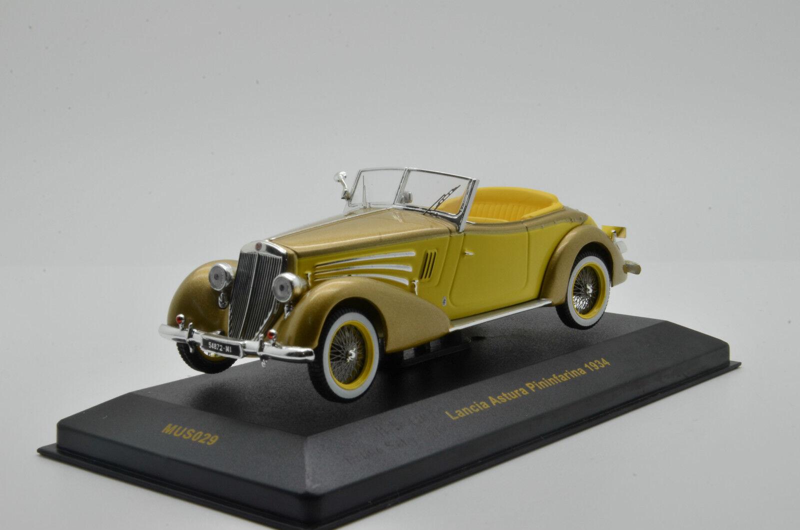 presa di fabbrica Lancia Lancia Lancia Astura Pininfarina 1934 IXO MUS 029 1 43  risparmia il 50% -75% di sconto