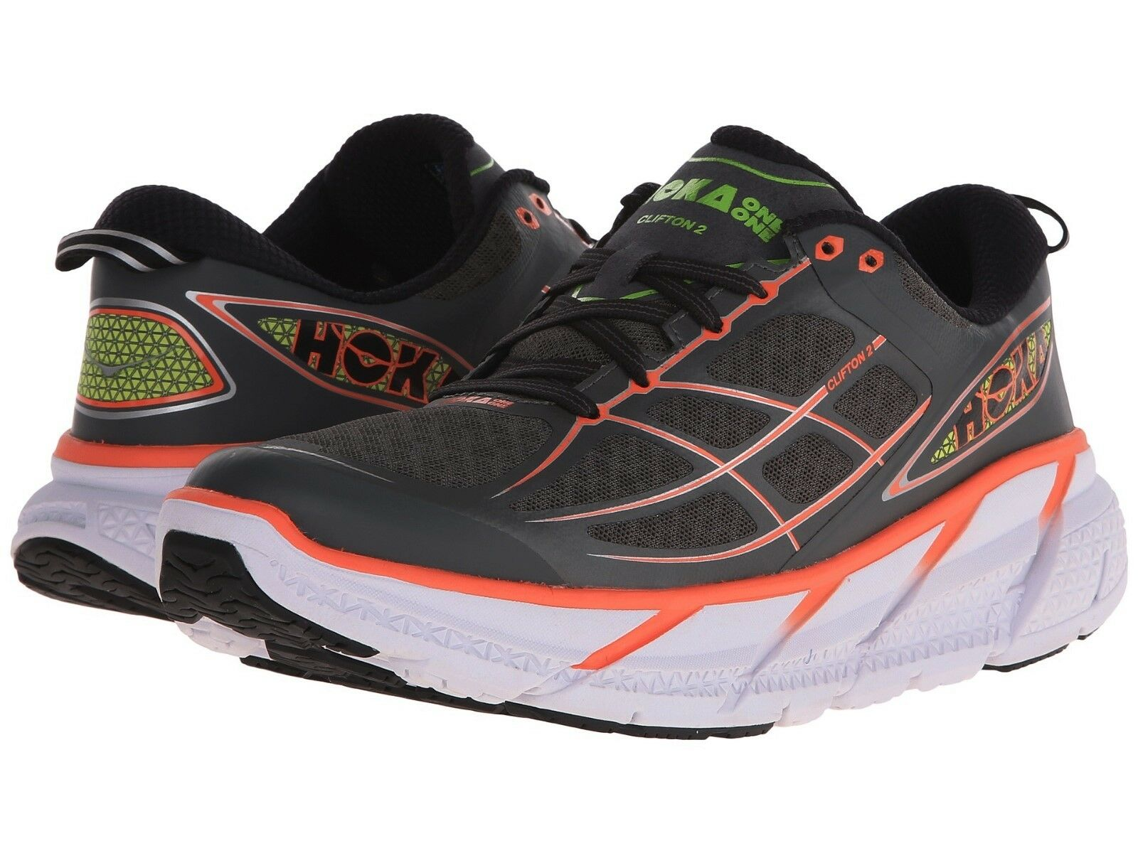 NEW femmes HOKA ONE ONE CLIFTON 2 RUNNING Chaussures - 7 / EUR 38 2/3 150 AUTHENTIC