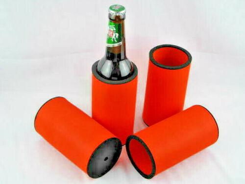 4 x 0,5L Flaschenkühler Bierkühler Getränkekühler Kühler Neopren Top Qualität