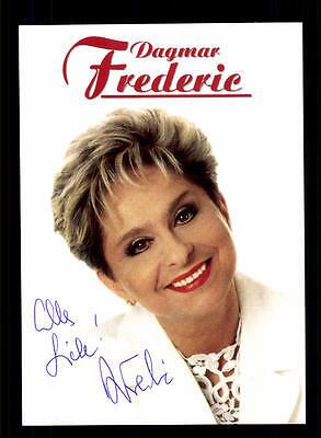 Dagmar Frederic Autogrammkarte Original Signiert ## Bc 63594 SorgfäLtig AusgewäHlte Materialien Original, Nicht Zertifiziert