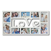 Love collage Picture Wall Hanging Photo Frame Wedding Gift Home Decor