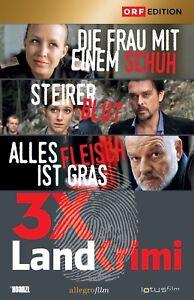 3-x-LANDKRIMI-Box-1-Nina-Proll-Tobias-Moretti-Wolfgang-Boeck-3-DVDs-NEU-OVP