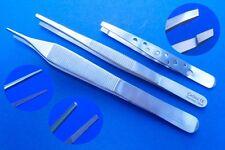 3 chirurgische/anatomische Pinzetten nach Adson, Zupfpinzette Top Qualität