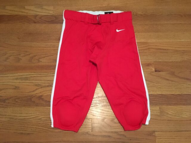e9397e142773 Nike Mens Mach Speed Football Pants Sz L Large Men s 789925 Red 658 ...
