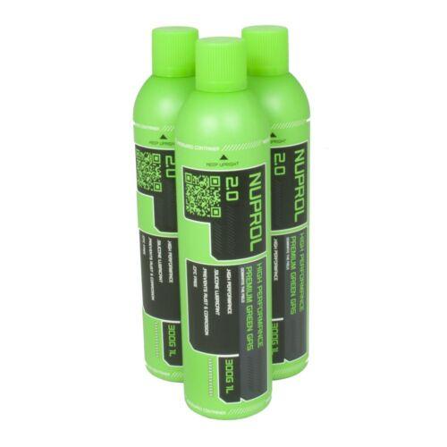 WE NUPROL 2.0 Premium Green Airsoft Gas 300g high performance powerful BB Gas