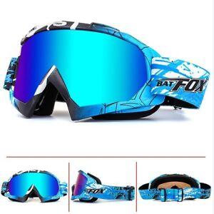 BAT-FOX-Snowboard-Ski-Goggles-Anti-Fog-Double-Layers-Eye-Protection-Glasses-NEW