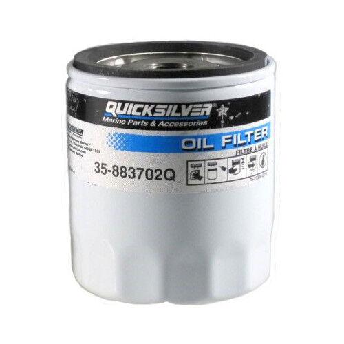 4.3L EFI V6 Oil Filter Genuine Mercruiser 4.3L Carb 35-883702Q 4.3LX Carb