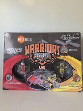 Hexbug Warriors Battle Stadium with Battling Robots CALDERA VS TRONIKON