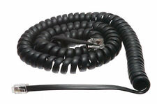 Samsung 12' FT Falcon iDCS DS-24 Prostar Phone Handset Coil Cord Wire Black NEW
