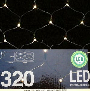 320-LED-PREMIUM-LICHTERNETZ-3x1-5m-LICHTERVORHANG-WEIHNACHTENSBELEUCHTUNG-IP44