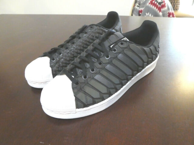 7a0708c9d adidas Superstar XENO Reflective Mens Shoe Size 12 D69366 Black for ...
