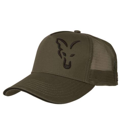 Kopfbekleidung Fox Trucker Cap Green Black Mütze Basecap Neu 2018